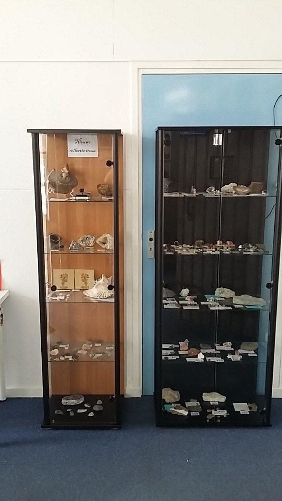 Mineralen collectie en nieuwe collectie items