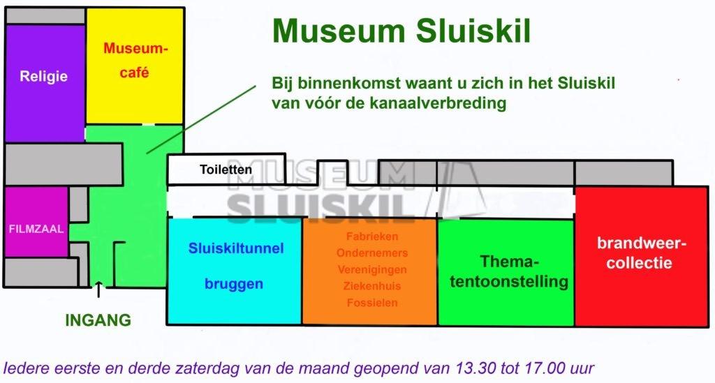 Plattegrond museum